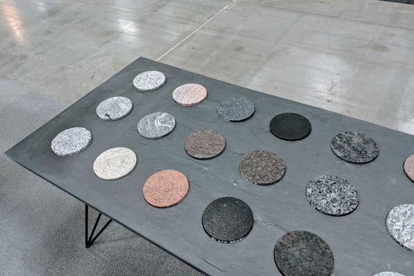 Materialmuster Display